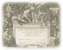 A reproduction of an award certificate from the Paris Exposition 1900